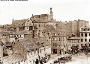 Pałac Górków 1880- 1900