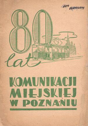 80 lat komunikacji miejskiej w Poznaniu
