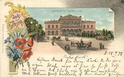 Centralbanhof - Pocztówka