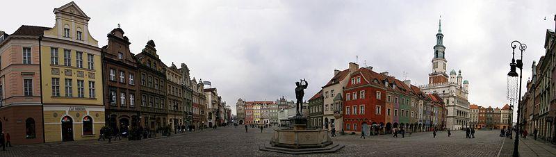 Stary Rynek - panorama