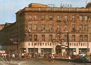 Hotel Bazar - lata 80-te