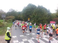 15. Poznań Maraton - peleton - od przodu