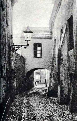 Ulica Wroniecka ( 1898 )
