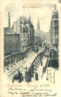 Most Chwaliszewski - 1901 - Pocztówka