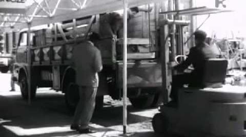 Skrzyżowanie Kaponiera w 1964 roku