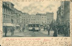 Alter Markt von der Neuen Strasse aus gesehen - 1899 - Pocztówka