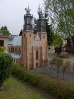 Katedra w Poznaniu miniatura
