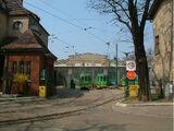 Zajezdnia tramwajowa przy ulicy Gajowej