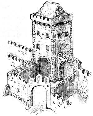 Brama Wroniecka XV