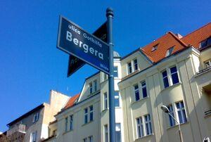 Gotthilf Berger Street Poznan