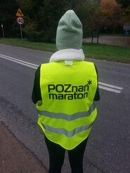 15. Poznań Maraton - wolontariuszka