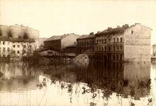 Powódź 1888 - Rybaki