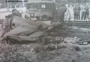 Katastrofa lotnicza w 1952.