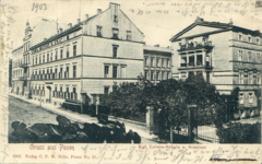 Ul. Młyńska - 1903 Pocztówka