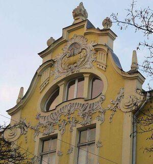 Beierlein House Poznan detail