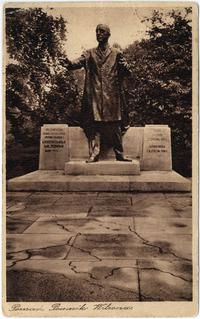 Pomnik Wilsona - Pocztówka