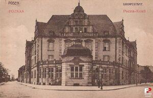 Urząd Pocztowy Poznań 2 - 1913