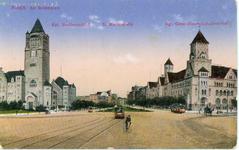Posen - Am Schlossplatz 2 - Pocztówka