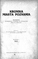 Kronika miasta poznania 1923