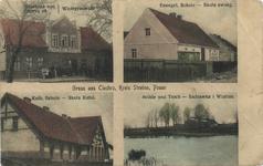 Poznań, Strzelno, Krzyż, Chechrz - Pocztówka