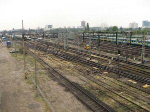 Poznan glowny wezel kolejowy