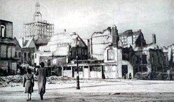 Stary Rynek w ruinie