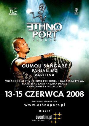 Ethno 2008 poster