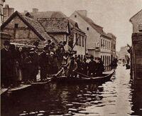Ul. Wenecjańska - powódź
