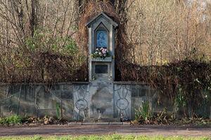 Kapliczka w miejscu szubienicy
