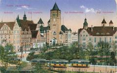 Posen - Am Schlossplatz - Pocztówka