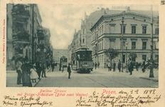 Berliner Strasse - 1899 - Pocztówka