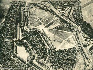 Fort Winiary z lotu ptaka