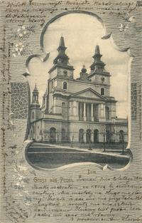 Kościół Katedralny - 1902 - Pocztówka
