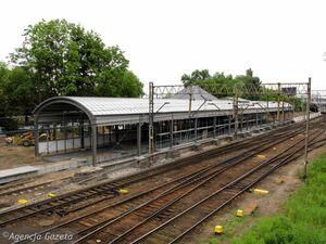 Nieodnowiony Dworzec Letni