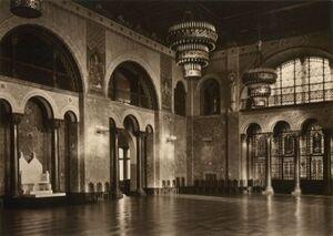 Zamek sala tronowa