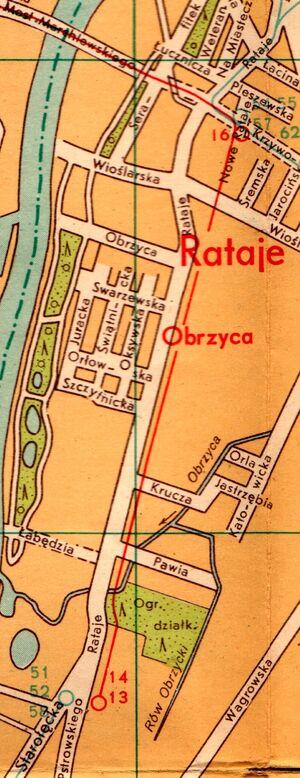 Trasa na Starołękę 1958