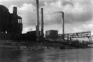 Gazownia miejska 1927