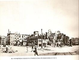 1945 zniszczenia