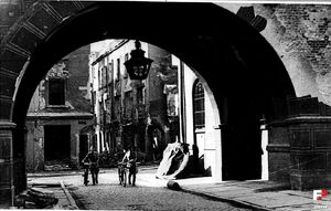 Między Nowym a Starym Ratuszem - 1945