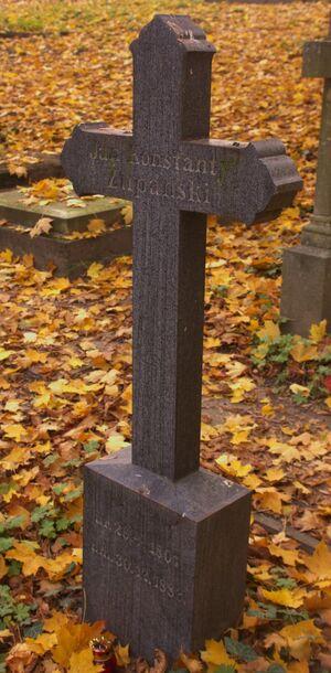 Jan Konstanty Żupański grób
