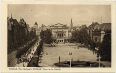 Plac Wolności - Pocztówka 2