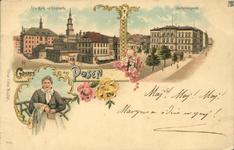 Alter Markt mit Hauptwache - Pocztówka