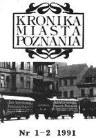Kronika miasta poznania 1991