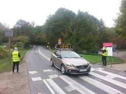 15. Poznań Maraton - zegar