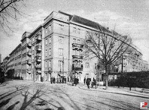 Ulica Krakowska Półwiejska 1928