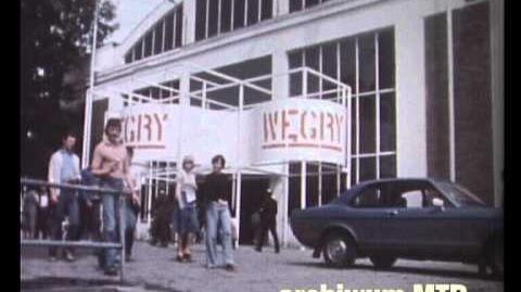 Międzynarodowe Targi Poznańskie 1977 rok fragmenty