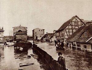 Ul. Piaskowa - powódź