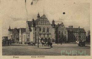 Akademia Królewska - pocztówka