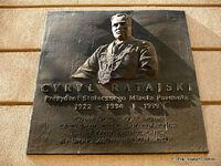 Cyryl Ratajski tablica