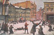 Leon Prauzinski Szturm na Prezydium Policji 1918
